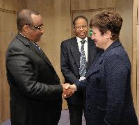 Visite d'Abdiweli Mohamed Ali, Premier ministre somalien, à la CE