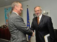 Visit of Werner Hoyer, President of the European Investment Bank, to the EC