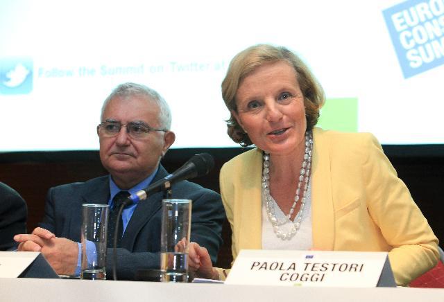Sommet européen des consommateurs 2012
