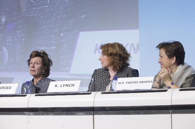 Participation of Neelie Kroes, Vice-President of the EC, at the first Conference of Partners of the European Innovation Partnership on Active and Healthy Ageing