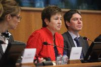Participation of Kristalina Georgieva, Member of the EC, at the workshop on the EU's Civil Protection Mechanism