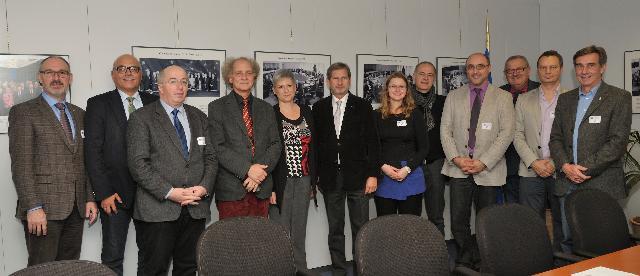 Visite à la CE de représentants de l'Union des organismes autrichiens de formation