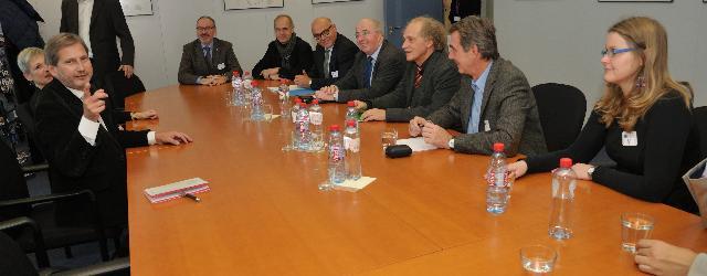 Visit to the EC of representatives from the Ring Österreichischer Bildungswerke