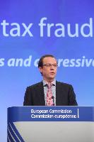 Press conference by Algirdas Šemeta, Member of the EC, on a comprehensive package to strengthen the fight against tax evasion and aggressive tax planning in the EU