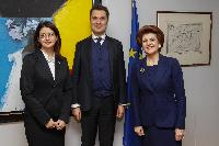 Visit of a delegation of the ETUC to the EC
