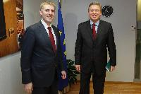 Visit of Igor Lukšić, Montenegrin Deputy Prime Minister; Minister for Foreign Affairs and European Integration, to the EC