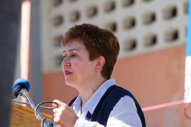 Visit of Kristalina Georgieva, Member of the EC, to Haiti