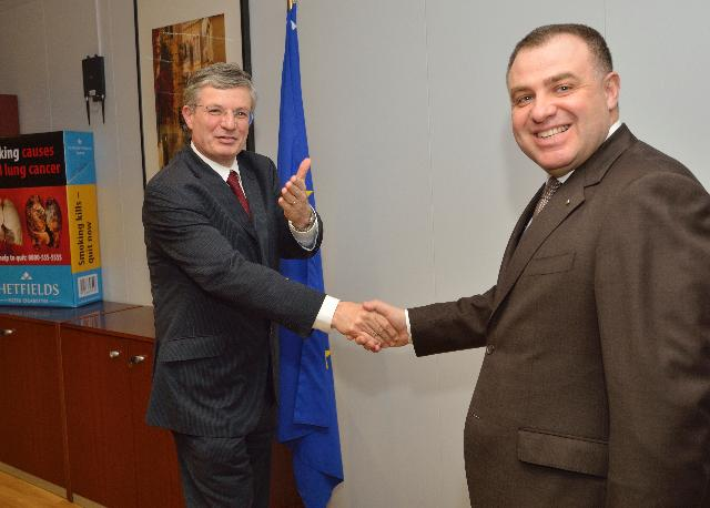 Visit of Miroslav Naydenov, Bulgarian Minister for Agriculture and Food, to the EC