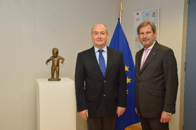 Visit of Pierrick Massiot, President of the Brittany Region, to the EC