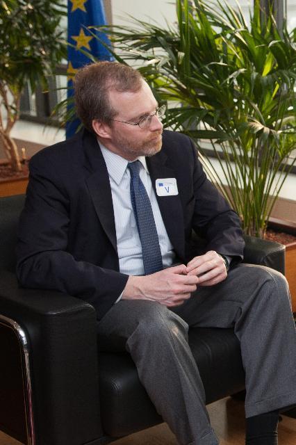 Visite de David Kramer, président de Freedom House, à la CE