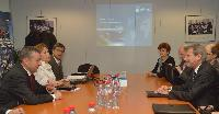 Visit of Paulino Rivero Baute, President of the Government of Canarias, to the EC