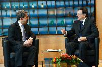 Visite de Rosen Plevneliev, président de la Bulgarie, à la CE