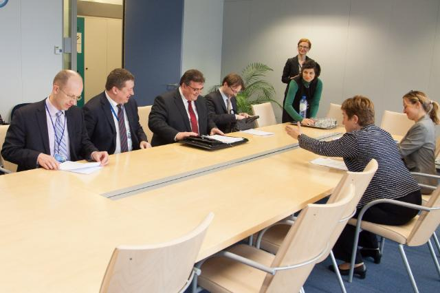 Visit of Linas Linkevičius, Lithuanian Minister for Foreign Affairs, to the EC