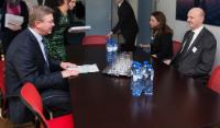 Visit of Konstantin Kublashvili, Chairman of the Supreme Court of Georgia, to the EC