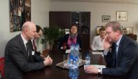 Visite de Konstantin Kublashvili, président de la Cour suprême de Géorgie, à la CE