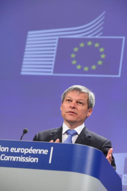 Press conference by Dacian Cioloş, Member of the EC, on the Multiannual Financial Framework 2014-2020 after the European Council