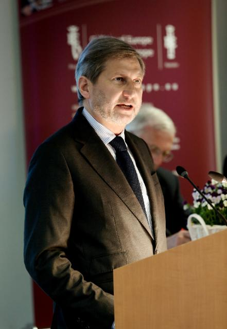 Participation of Johannes Hahn, Member of the EC, at the 4th Bruges European Business Conference organised at the College of Europe