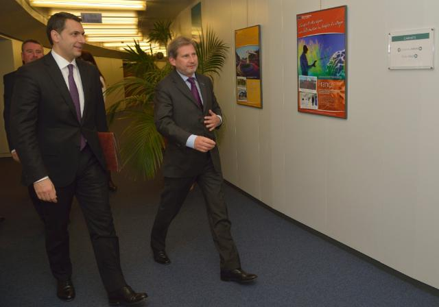 Visit of János Lázár, Hungarian Minister of State, Head of the Office of the Prime Minister, to the EC