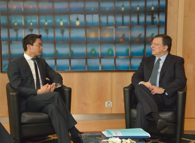 Visit of Philipp Rösler, German Deputy Federal Chancellor and Federal Minister for Economics and Technology, to the EC