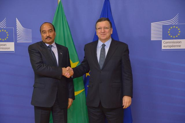 Visit of Mohamed Ould Abdel Aziz, President of Mauritania, to the EC