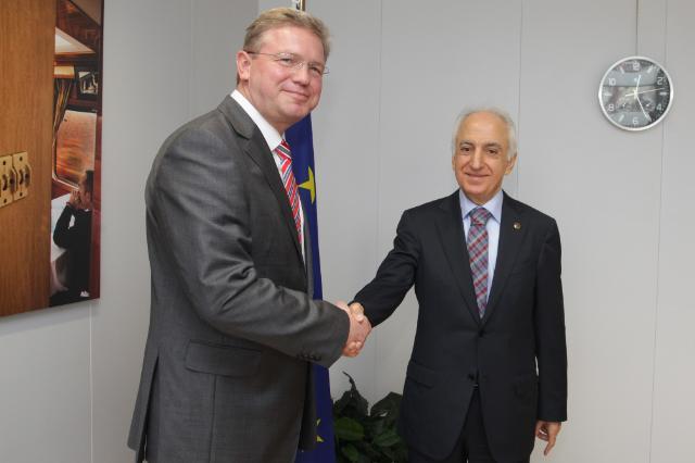 Visit of Mehmet Nihat Ömeroğlu, Turkish Ombudsman, to the EC