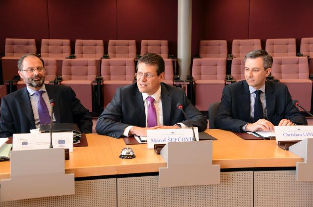 Participation of Maroš Šefčovič, Vice-President of the EC, at the Transparency register meeting