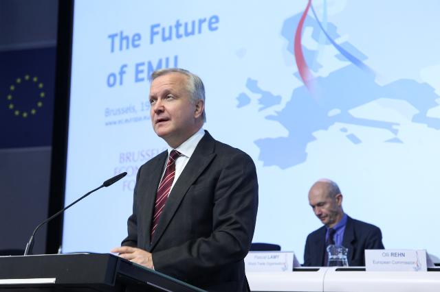 Participation of Olli Rehn, Vice-President of the EC, in the Brussels Economic Forum 2013
