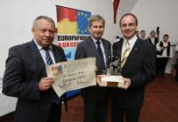 Presentation of the 'Europan 2013' award to Johannes Hahn, Member of the EC