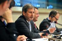 Participation de Johannes Hahn, membre de la CE, à la conférence sur l'aide européenne aux PME au cours de la période 2014-2020