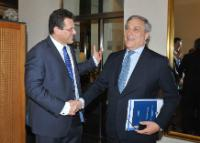 Joint visit by Antonio Tajani and Maroš Šefčovič, Vice-Presidents of the EC, to Slovakia