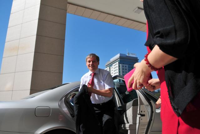 Visit of Dacian Cioloş, Member of the EC, to China