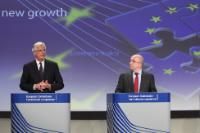 Joint press conference by Joaquín Almunia, Vice-President of the EC, and Michel Barnier, Member of the EC, on the new rules on Payment Services for the benefit of consumers and retailers