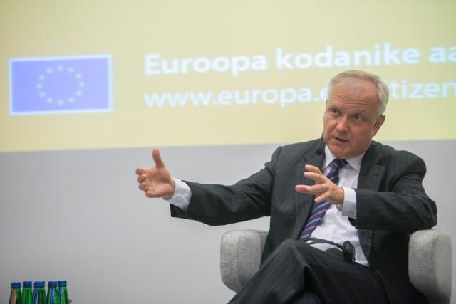 Citizens' Dialogue in Tallinn with Siim Kallas and Olli Rehn