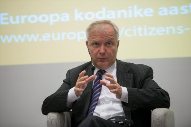 Citizens' Dialogue in Tallinn with Siim Kallas and Olli Rehn