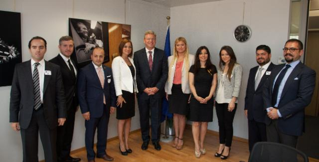 Visit of the representatives from Tügiad to the EC