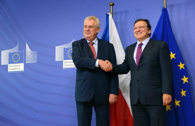 Visit of Miloš Zeman, President of the Czech Republic, to the EC
