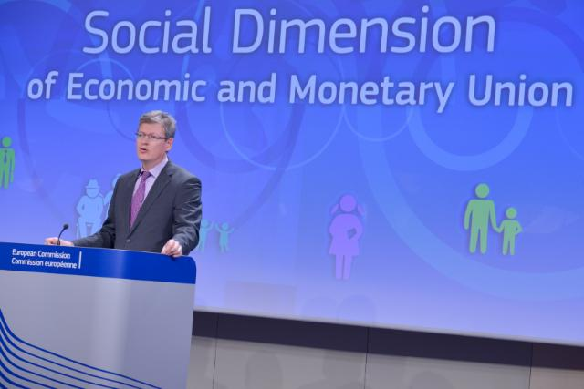 Press conference by László Andor, Member of the EC, on the future of the Economic and Monetary Union