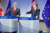 Visit of Stephen Harper, Canadian Prime Minister, to the EC