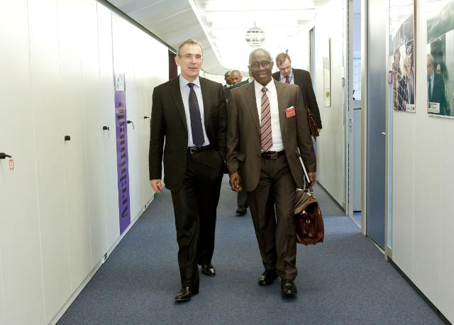 Visit of Kerfalla Yansané, Guinean Minister for Finance, to the EC
