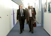 Visit of Kerfalla Yansané, Guinean Minister for Finance, to the EC