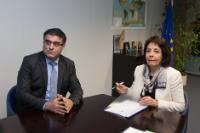 Visit of Nicos Kouyialis, Cypriot Minister for Agriculture, Natural Resources and Environment, to the EC