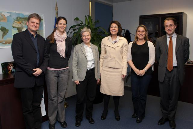 Visit of several representatives of the WWF European Policy Office to the EC