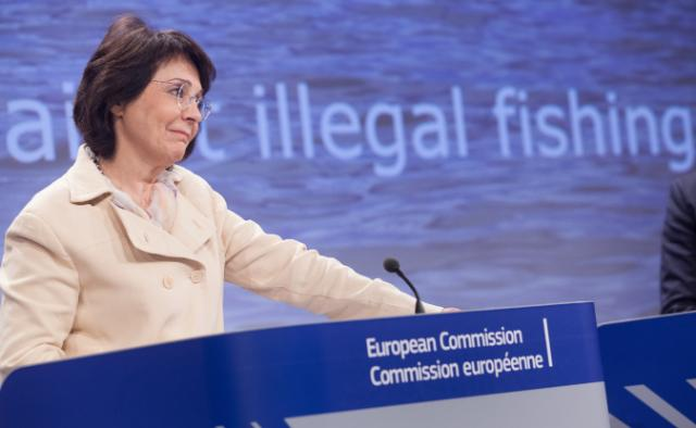 Press conference by Maria Damanaki, Member of the EC, on the fight against illegal fishing