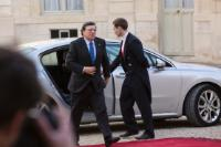 Participation of José Manuel Barroso, President of the EC, in the Elysée Summit for Peace and Security in Africa