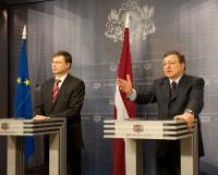 Visit of José Manuel Barroso, President of the EC, to Latvia
