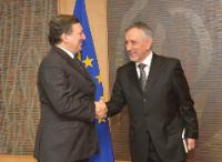 Visit of Pasquale Valentini, Minister for Foreign Affairs of San Marino, to the EC