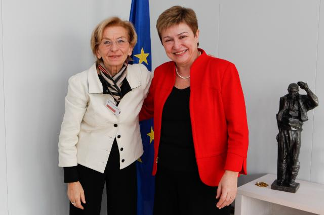 Visit of Emma Bonino, Italian Minister for Foreign Affairs, to the EC