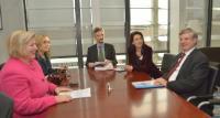 Visite de Cornelia Rundt, ministre des Affaires sociales, des Femmes, de la Famille, de la Santé et de l'Intégration du Land de Basse-Saxe, à la CE