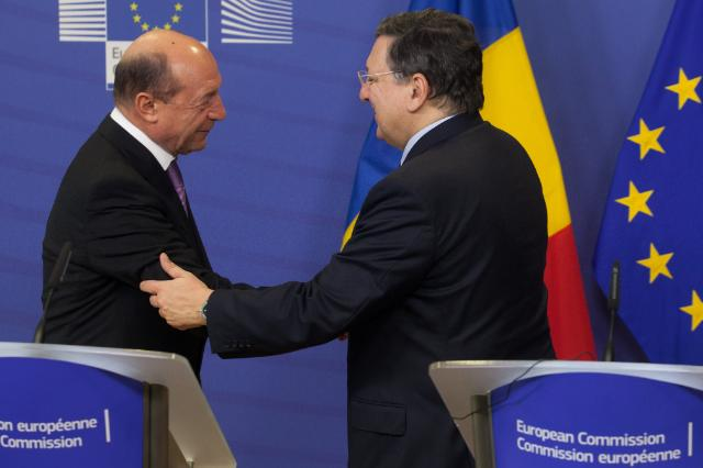 Visit of Traian Băsescu, President of Romania, to the EC