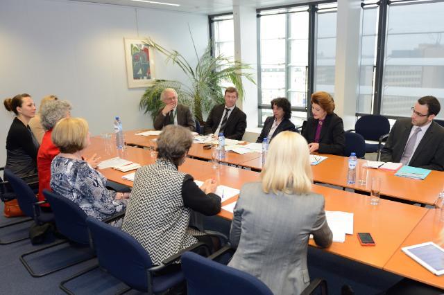 Visite du Groupe d'experts sur l'égalité hommes-femmes dans le sport à la CE